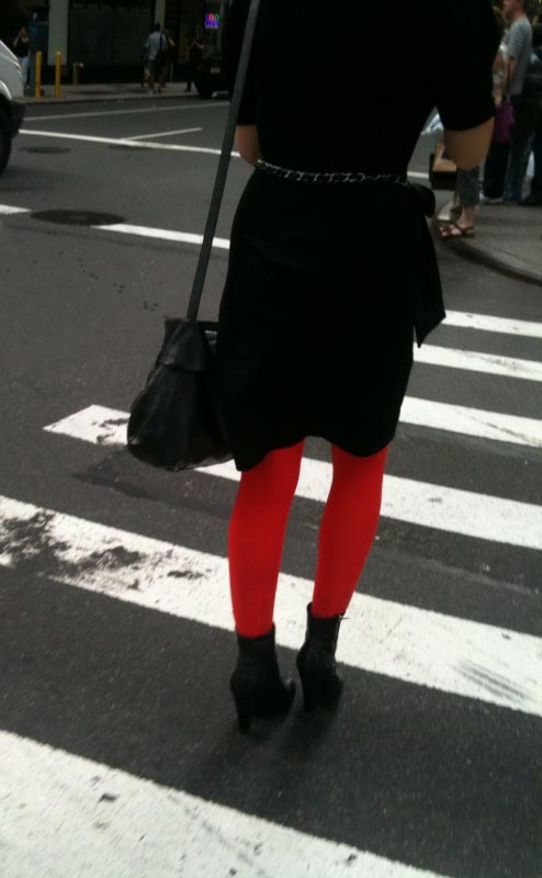 Tomato Tights! They're Red Hot!